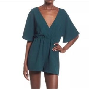 Leith Emerald/Teal Romper